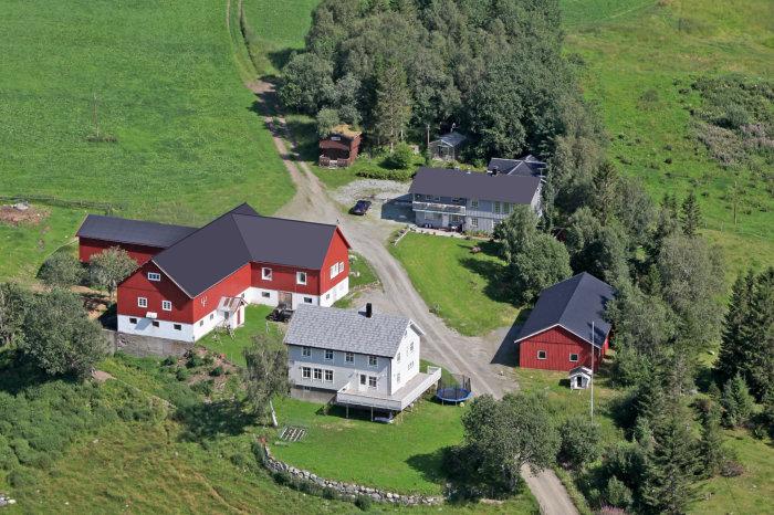Luftfoto av Jensgarden