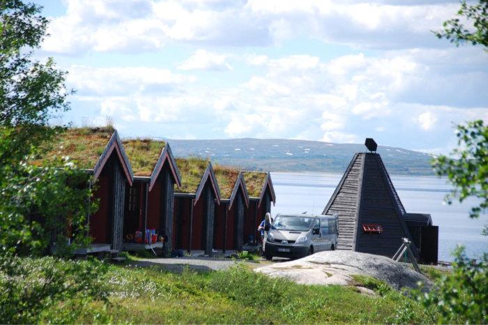 Foto fra Nesjøen fiskecamp