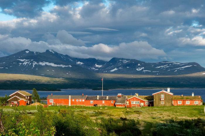 Foto av Storerikvollen turisthytte