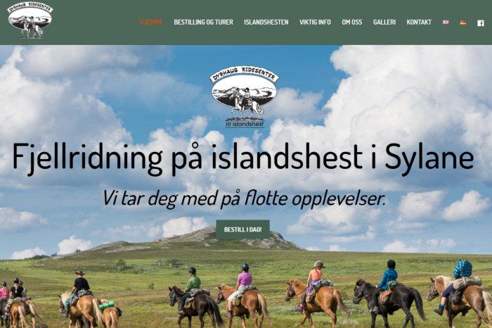 Åpner hjemmesiden til Dyrhaug ridesenter i ny fane.