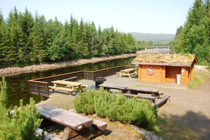 Åpner ny side om handicapfiskeplass i ny fane