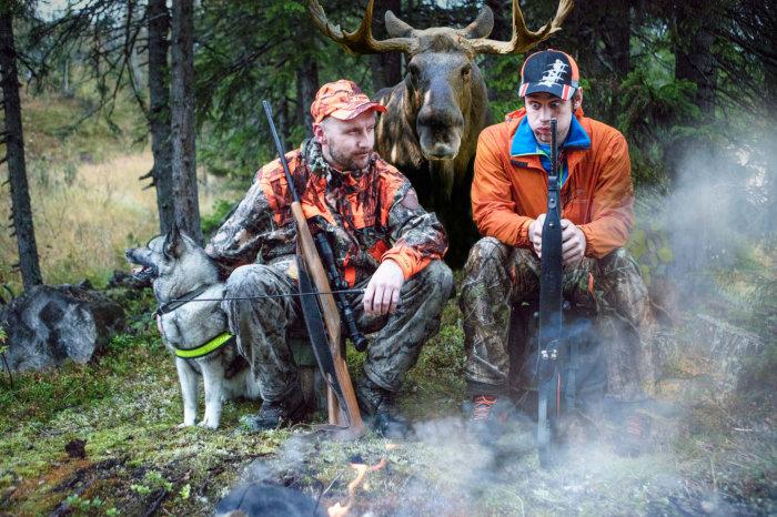 Åpner dialogboks med lenker og info om jakt og fiske.