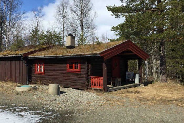 Foto av hytte i Tydal