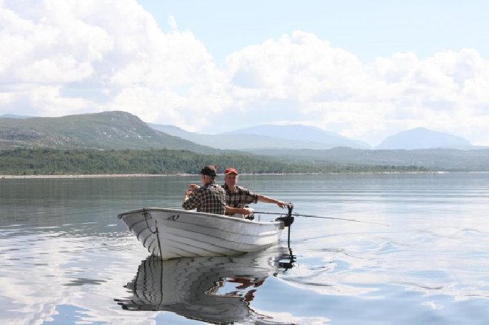 Åpner dialogboks med lenker og info om båtutleie i Tydal