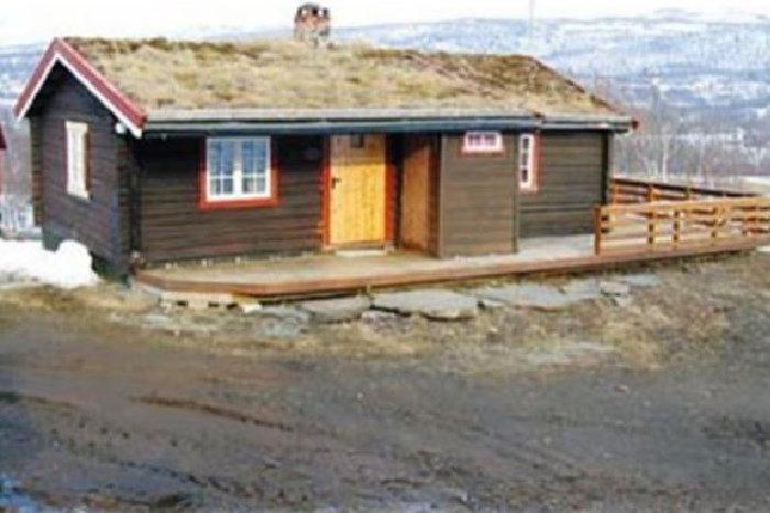 Åpner dialogboks med info om Flaten hytte