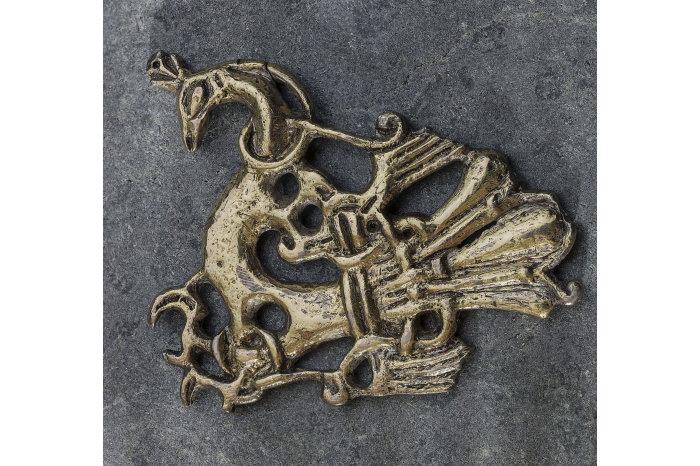 Bilde av smykke fra Græslifunnet. Kopling til Græslifunnet på Wikipedia