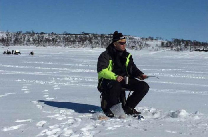 Åpner dialogboks med lenker og info om isfiske i Tydal og Sylan.