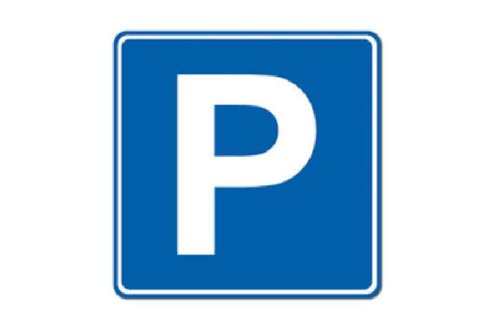 Symbol, parkeringsskilt