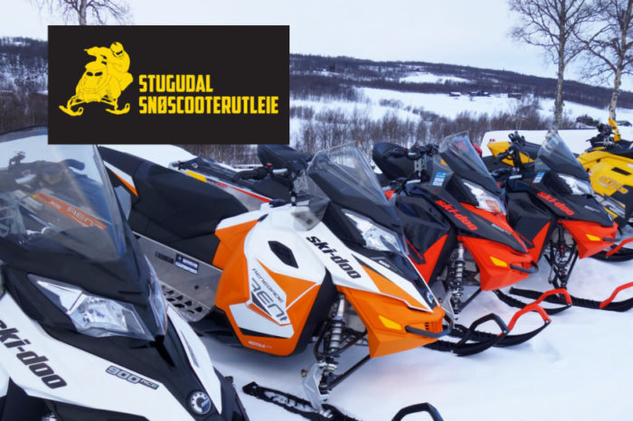 Til hjemmesiden til Stugudal snøscooter-utleie.