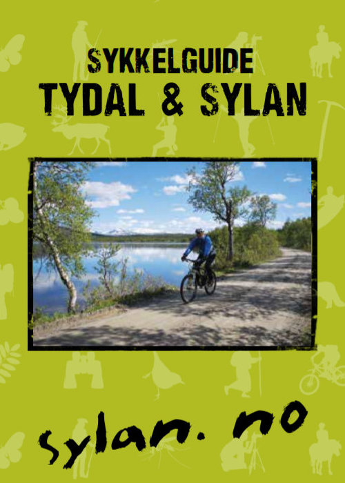 Åpner PDF brosjyren Sykkelguide for Tydal og Sylan.